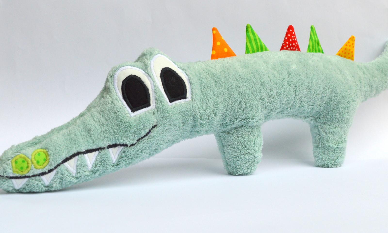 Krokodil klein Holgar - Nähanleitung