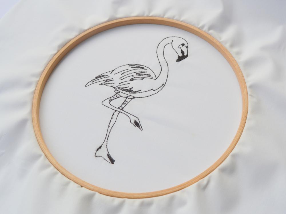 Stickdatei Flamingo - Fadenstark - Onlineshop