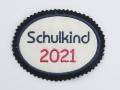 Stickdatei Applikation Schulkind Schulanfang